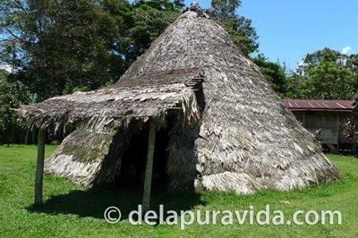 Bribri shaman hut
