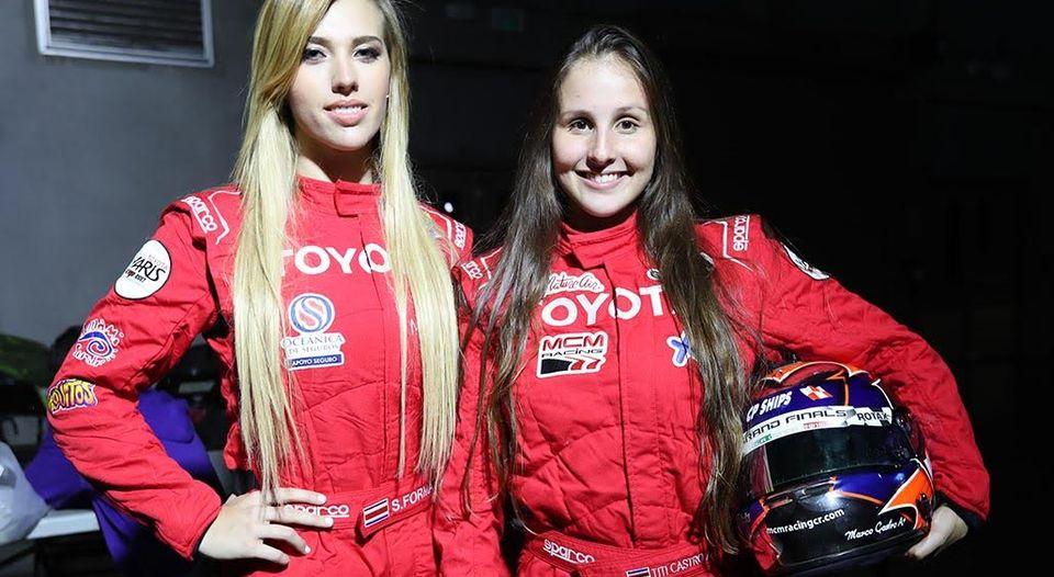Sabrina Formal Maria Castro Yaris Cup CCTC Costa Rica Viva Circuit Danny Formal Marco Castro
