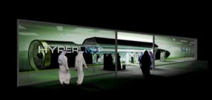 Hyperloop Transport Pod Dubai Emirates Abu Dhabi fast travel
