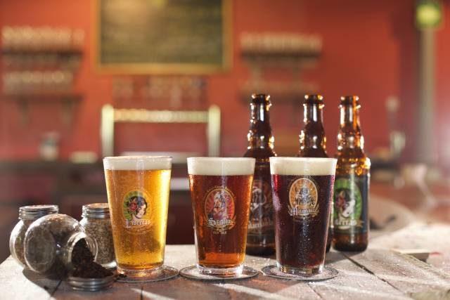 Handcrafted beer