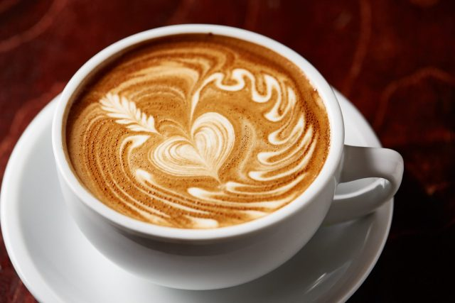A good cup of coffee has not only taste and smell but also visual presentation.