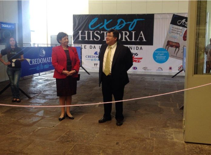 ExpoHistoria is intended to show the story behind history of antiques.