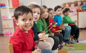 Music activities are likely to be included in most preschool environments.