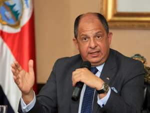 President of Costa Rica, Luis Guillermo Solís