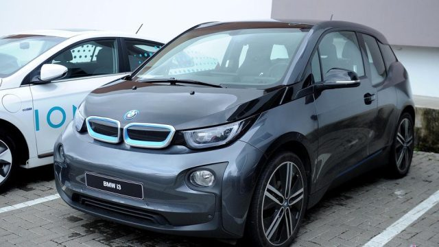 Electric car model BMW i3