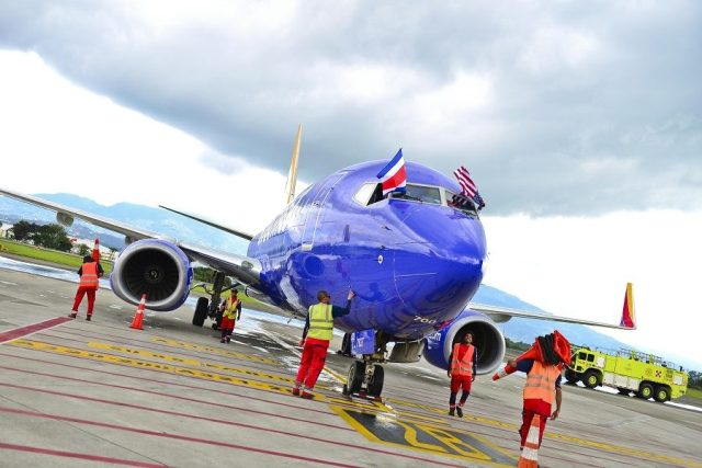 Southwest Airlines starts its 1st flights to Costa Rica