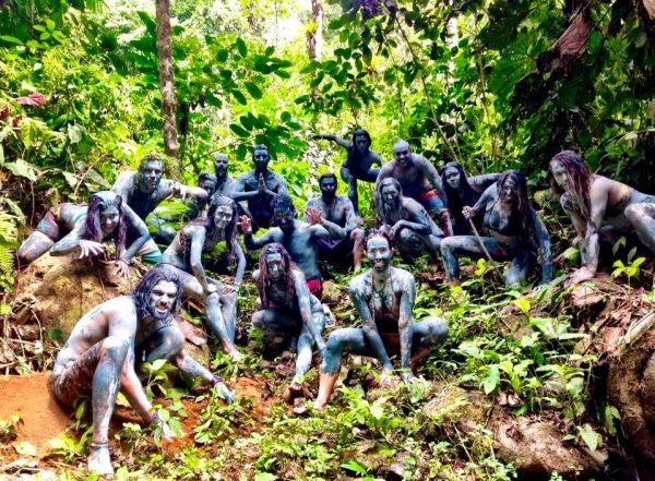 Vision Quest Surrender to the Jungle Blue Clay Group