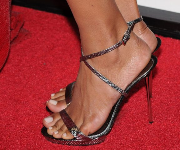 Using high-heels is elegant but sometimes it may cause pain in the back and hips.