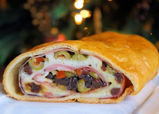 Ham bread is very popular in Christmas time for most Venezuelans.
