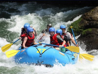Vision Quest White Water Rafting