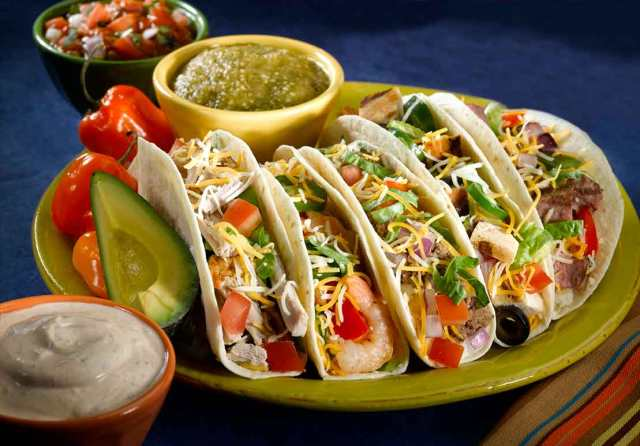 Mexican food is simply delicious.