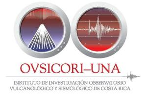 Ovsicori-Una is the institution in charge of registering all seismic and volcanic activity in Costa Rica.