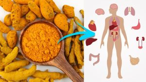 There are many health benefits provided by turmeric root.