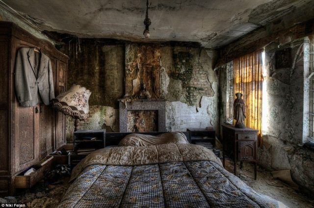 Bedroom at the Knöhr family's house