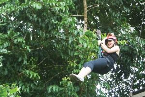 Canopy can be pretty exciting for the most daring people.