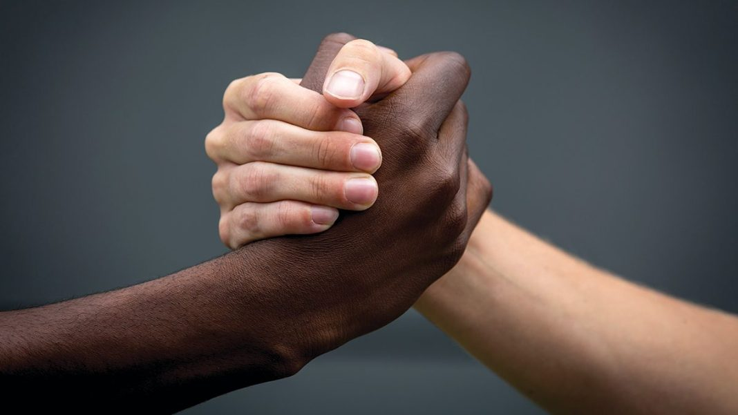 Different-Colored Hands