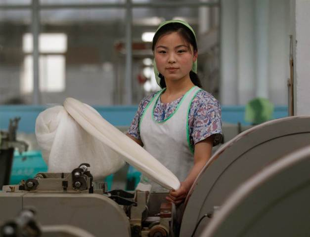 Women have to do all domestic household work in the traditional North Korean society.