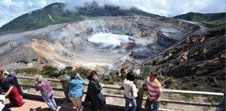 Viewpoint of Poas Volcano