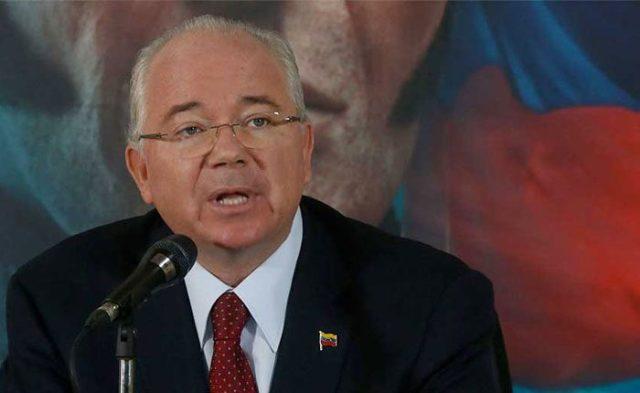 Rafael Ramírez was one of the main collaborators of the deceased President Hugo Chavez.