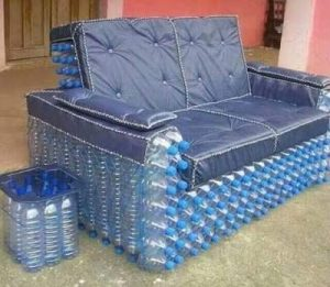 Recycled sofa