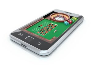 Smartphones are ideal for playing online games such as roulette and/or baccarat.