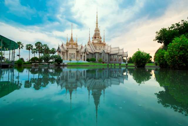 There are many royal palaces built by different dynasties all over Vietnam.