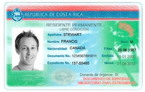 The cédula for permanent residency is the document foreigners need to tramit in Costa Rica.