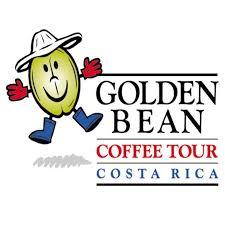 """""""Golden Bean"""" Coffee Tour logo"""