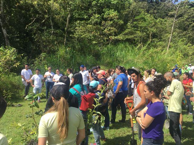 Reforestation Activity EXPOTUR 2018