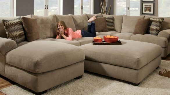 Comfortable sectional sofa