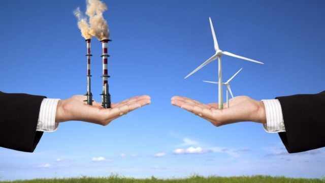Fossil fuels vs Clean energy sources