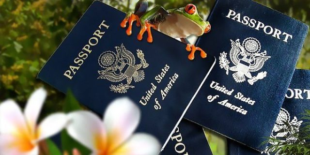 Passports are some of the required documents to enter Costa Rica
