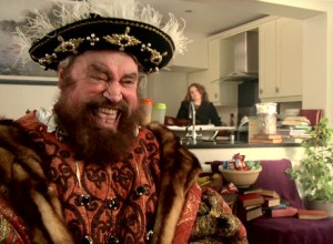 Brian Blessed Wins Animal Rights Outburst… Dressed As Henry VIII.
