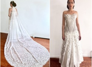 You Won't Believe What These Wedding Dresses Are Made Of