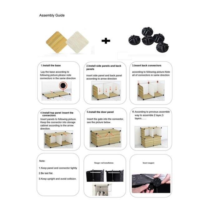 3-column wardrobe manual