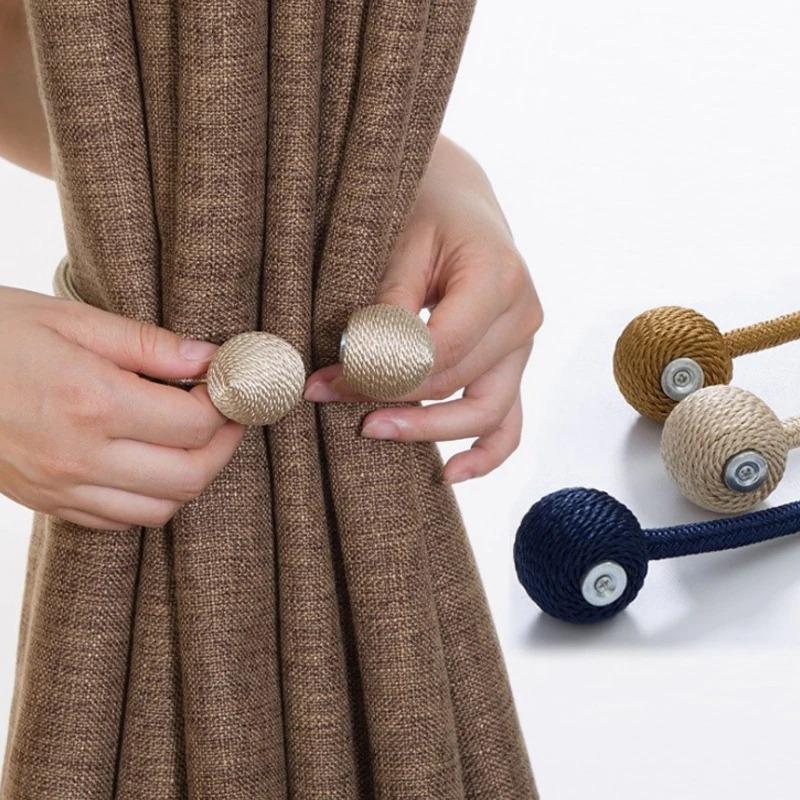 tieback magnetic curtain holders