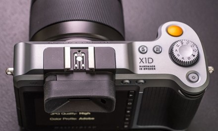 Hasselblad X1D Announced.