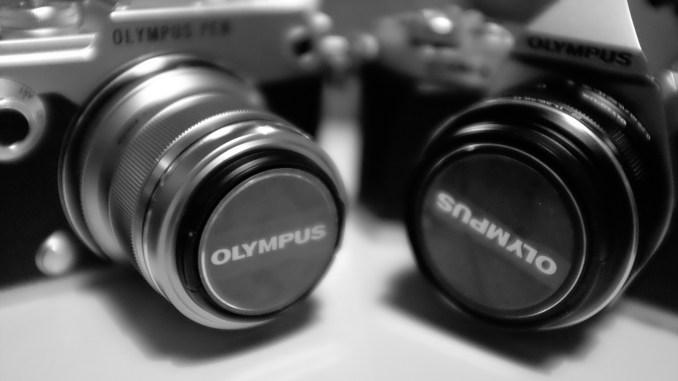 Olympus Pen F vs OMD EM5 II