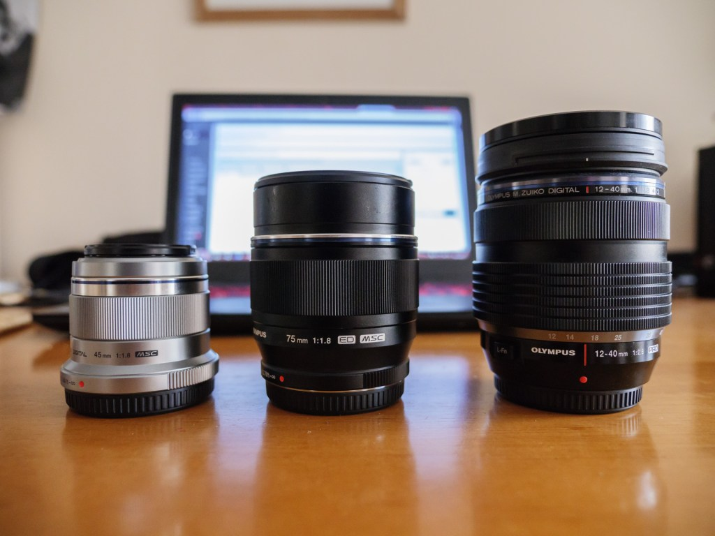 olympus 75mm 1.8 review size
