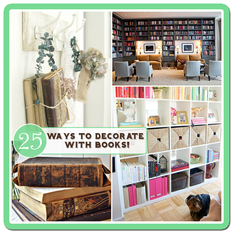 25 Ways To Decorate With Booksfree Bookplate Printable