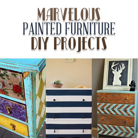 Marvelous Painted Furniture DIY Projects The Cottage Market