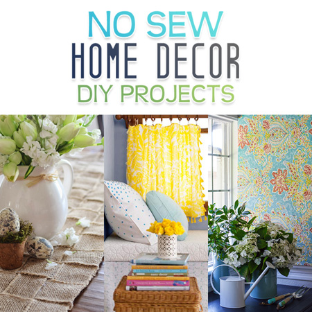 Great No Sew Home Decor Diy Projects The Cottage Market