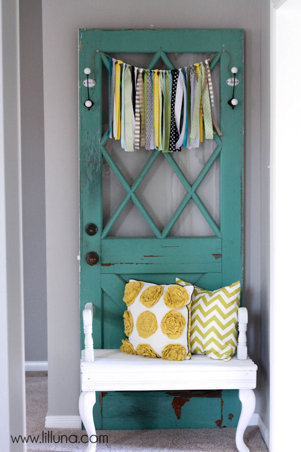 10 More Awesome Upcycled Door DIY Projects Page 5 Of 6