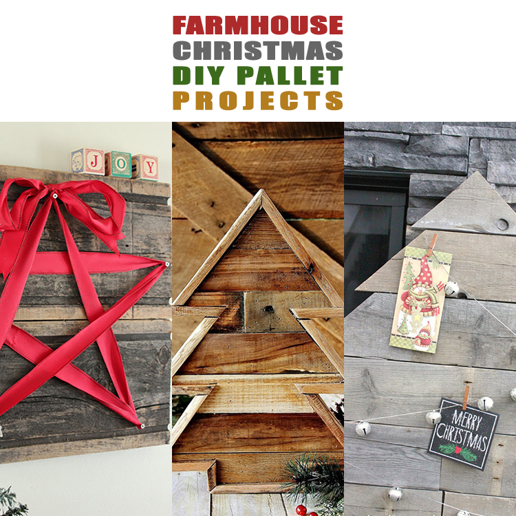 Farmhouse Christmas DIY Pallet Projects Page 10 Of 13