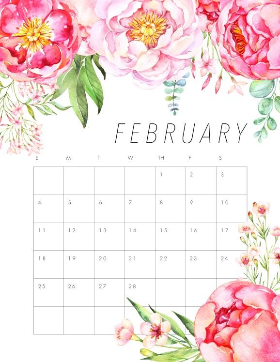 Image result for free february 2018 calendar desktop