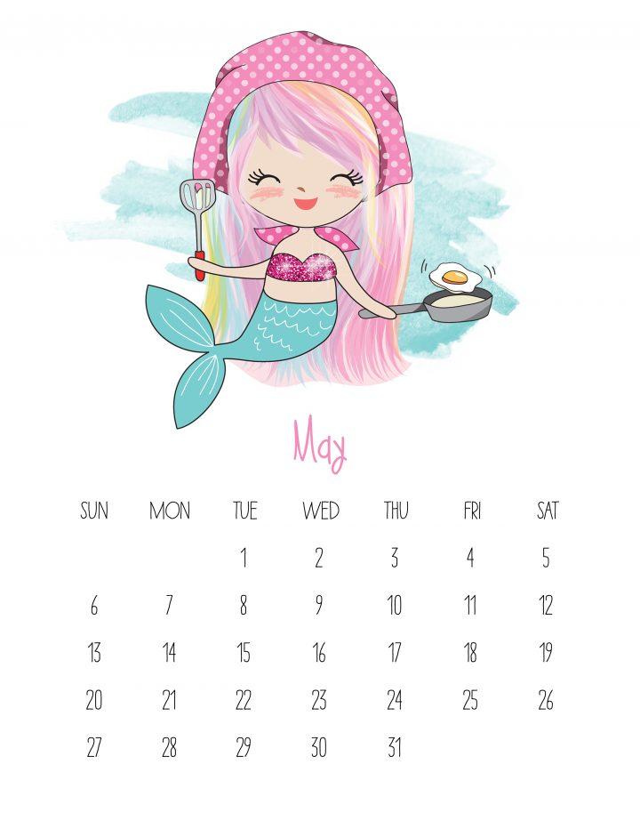 8 X 11 Printable Calendar 2020