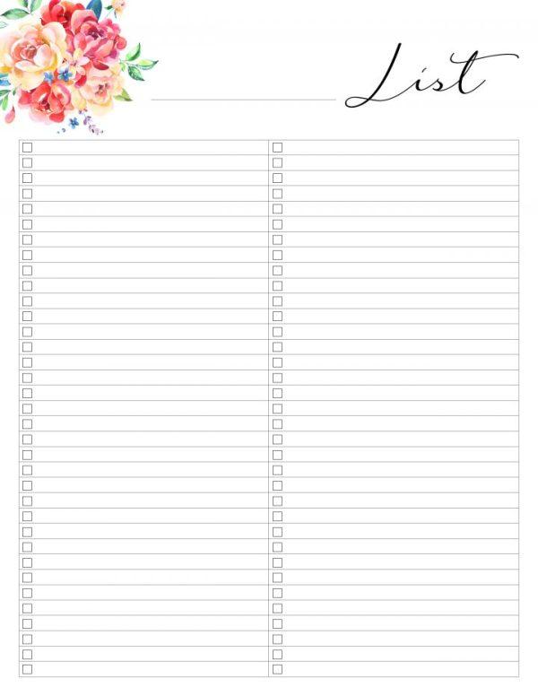 free printables planner # 48
