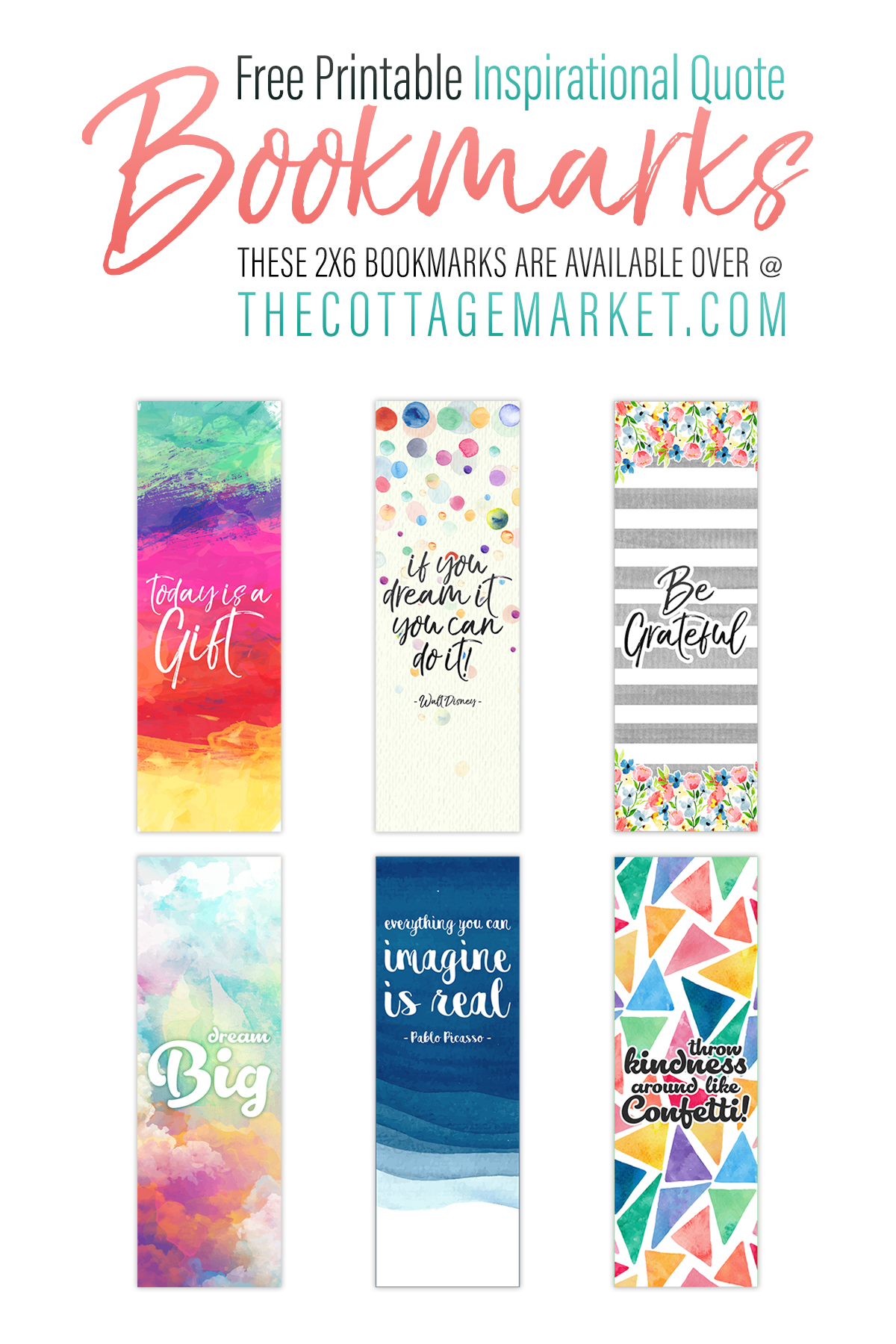 Printable Bookmarks With Quotes