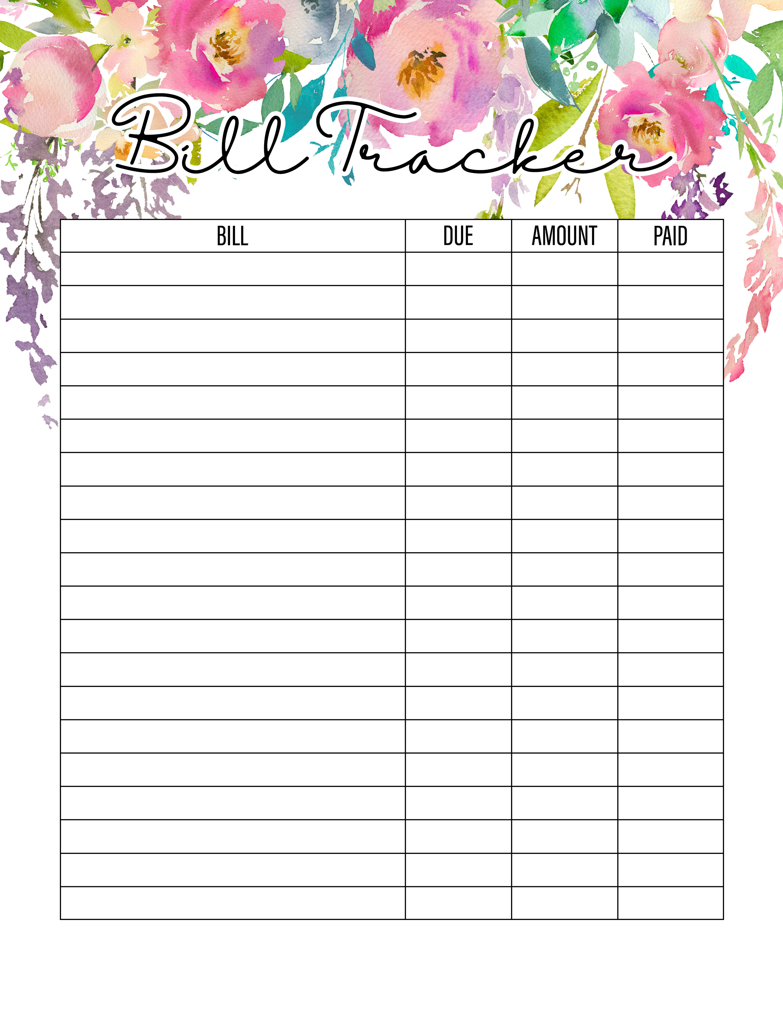 The Best Free Printable Planner To Organize Your Life