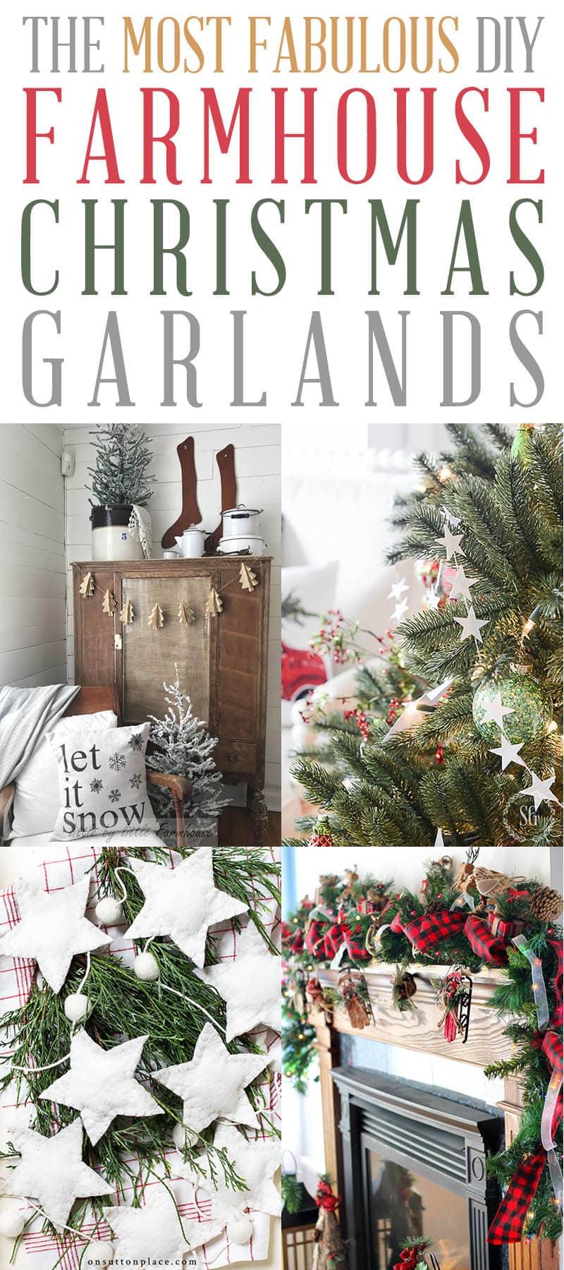 DIY Christmas Garland T 3